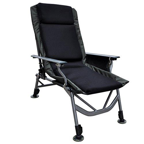 Sedia da giardino reclinabile reclinabile Sedia pieghevole Sedia portatile Letto regolabile Sedia Siesta Sedia da pranzo per ufficio Sedia da spiaggia per esterni con pratico contenitore