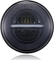 Vehicle Compatibility: Mahindra Thar / Royal Enfield Bullet Better Visibility - This light utilizes the Latest Technology *High Intensity LED chips*, Much brighter and durable than factory halogen and hid headlight bulbs. Effective Luminous Flux: 400...