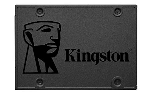 Kingston A400 SSD SA400S37/480G - Disco duro sólido interno 2.5' SATA...