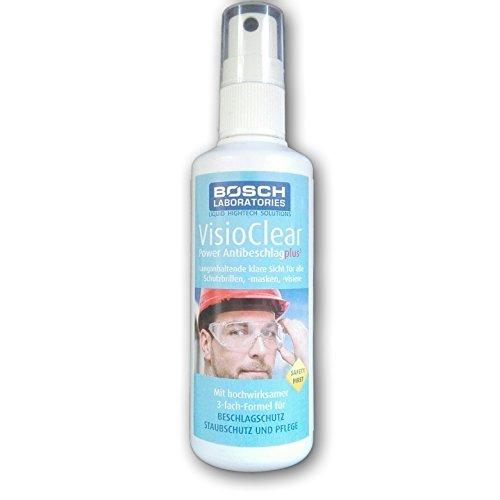 Bosch Laboratories Antibeschlag Spray VisioClear Power Antibeschlag Plus³ (100 ml) Testsieger Einweg-Verp.