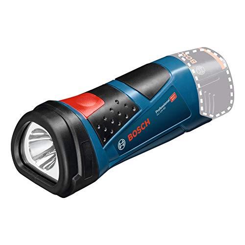 Bosch Professional 12V System Akku LED Taschenlampe GLI 12V-80 (80 Lumen, ohne Akkus und Ladegerät, im Karton)