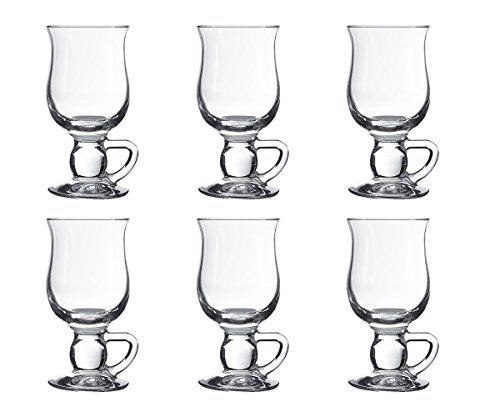 Pasabahce 44159 - Set di 6 tazze per caffè Irish Coffee, Punsch, vin brulé, cioccolato caldo