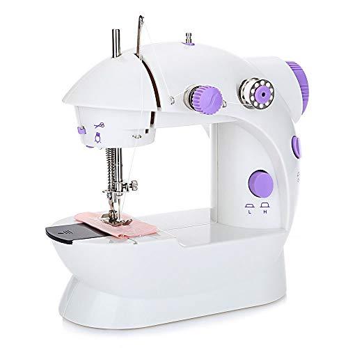 Joody Mini Macchina da Cucire elettrica Macchina da Cucire Multifunzione a 2 velocit elettrica con...