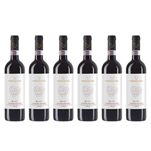Petrucca e Vela | Agape | Cesanese Del Piglio Docg Superiore | 2018 | 6 Bottiglie