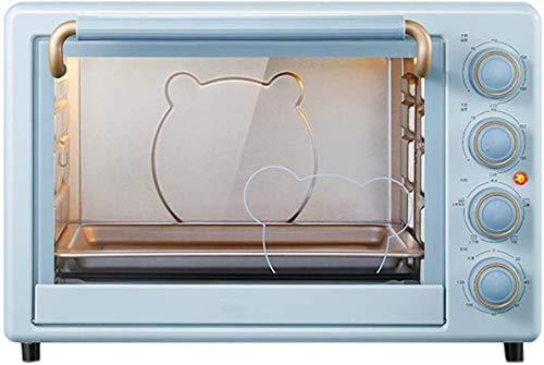 35L Mini forno elettrico, con convezione - Multi Funzione di cottura Grill Grill regolabile Timer di controllo della temperatura regolabile 1600W Forno da convezione della cucina