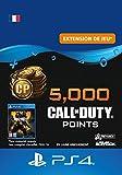 Ce pack comprend 4 000 points* Call of Duty (PC) + 1 000 points bonus (25% en plus). Les points Call of Duty (PC) sont la monnaie utilisable dans Black Ops 4 pour obtenir du nouveau contenu à utiliser dans les modes multijoueur, Zombies et Blackout. ...