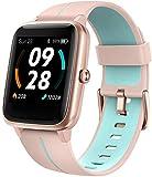 Blackview 205G Smartwatch GPS Damen, Smart Armbanduhr Frauen Fitness Tracker Smart Watch 5ATM Wasserdicht Fitnessuhr mit Schwimmüberwachung Pulsuhr Wearable Sportuhr Kompatibel iPhone Android Handy