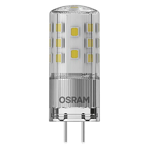 OSRAM LED PIN 12 V DIM Lampada LED, Attacco GY6.35, Bianco Caldo, 2700 K, 3.30 W = Equivalente a 35 W, LED PIN 12 V, Chiaro, Taglia Unica