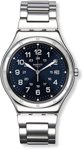 Swatch Herrenuhr Digital Quarz mit Edelstahlarmband – YWS420G