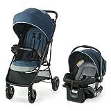Graco NimbleLite Travel System   Includes Lightweight Stroller and SnugRide 35 Lite Infant Car Seat, Parent Storage, Compact Fold   Lightweight Stroller Under 15 Pounds, Belgrade