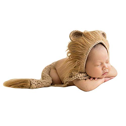 Newborn Baby Crochet Knitted Costume Photography Props Animal...