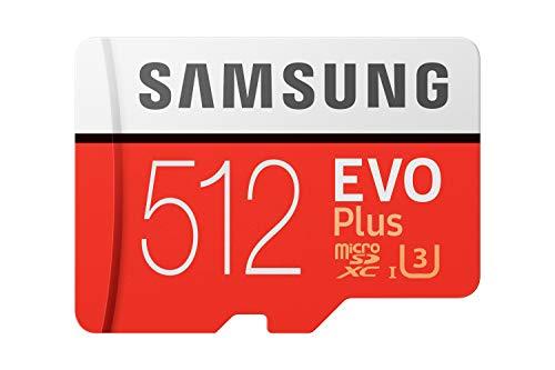 Samsung MicroSDXC EVO Plus w/Adapter 512 GB Memory Card for Use in...
