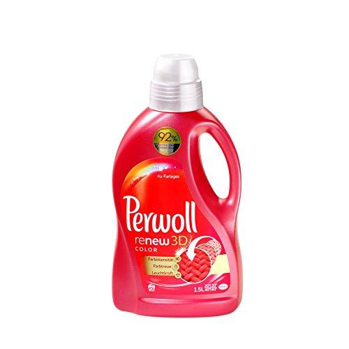 Perwoll renew 3D color, Waschmittel, 4er Pack (4 x 20 Waschladungen)
