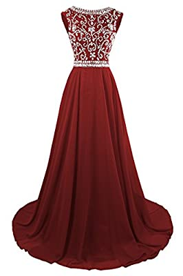 Floor length beaded chiffon formal dresses for pregnant women, Beauty Pageant, social evening. Main Features: cap sleeves, zipper back, floor length, illusion neck, Rhinstone, empaire waist, crystal,sequins. If the standard size chart does not fit yo...