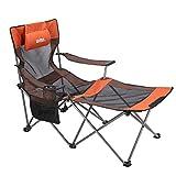 Umi. by Amazon - Chaises de Camping Chaise de Plage Mixte Fauteuil Pliable Porte-Boisson Sac de...