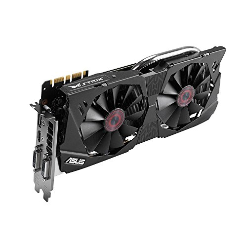 ASUSTek社製 NVIDIA GeForce GTX 970搭載グラフィックスカード(オーバークロック) STRIX-GTX970-DC2OC-4GD5