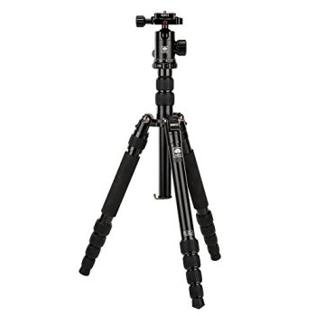 "SIRUI NT-1005X 55.1"" Lightweight Aluminum Camera Tripod with E-10 360° Ball Head - Convertible to Monopod"