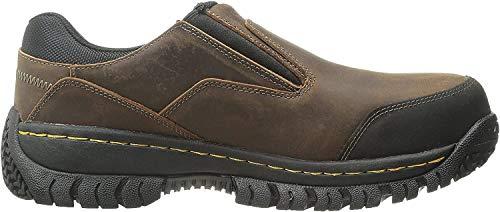 Skechers for Work Men's Hartan Steel Toe Slip-On Shoe