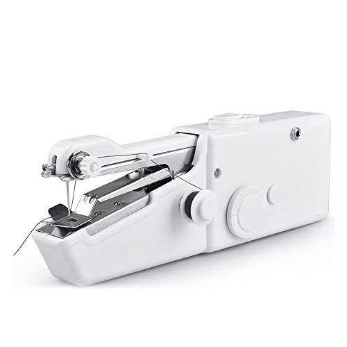 Macchine da cucire portatili Mini macchina da cucire portatile per tende Abbigliamento artigianato e...