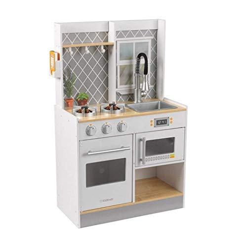 KIDKRAFT Let's Cook Wooden Play Kitchen 53395