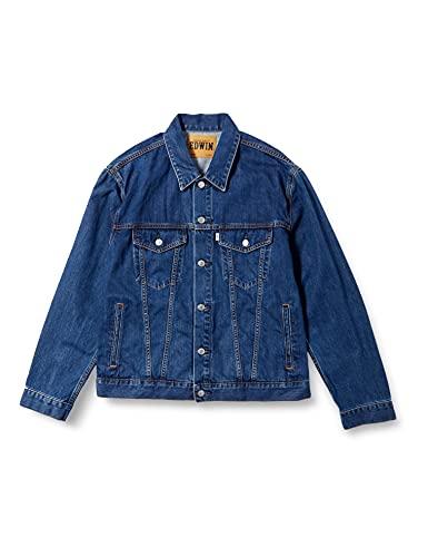 [エドウィン] デニムジャケット ET1087 メンズ 中色ブルー XL