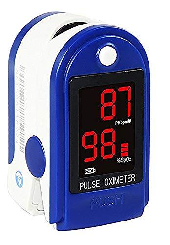 Concord Basics Blue Fingertip Pulse Oximeter