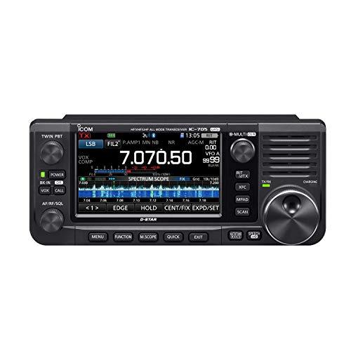 IC-705 オールモード HF+50MHz+144MHz+430MHz SSB/CW/RTTY/AM/FM/DV 10Wトランシーバー オリジナルイヤホン...