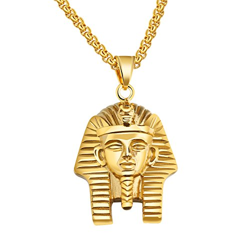 Colgante de Faraón Egipcio en acero inoxidable Faraón