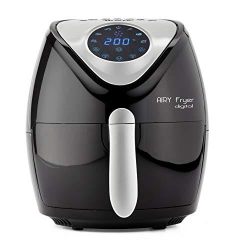 Ariete 4616 Airy Fryer Digital Friggitrice ad aria calda senza olio, 1300 W, Capacit 2,6L, LCD...