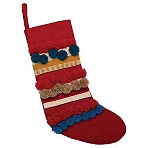 """It will be the first thing the children grab on Christmas morning The perfect stocking to decorate your fireplace mantel Make sure each family member has their own special stocking 13""""L x 0. 5""""W x 19""""H"""