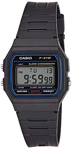 Casio Reloj de pulsera Unisex F-91W-1YER