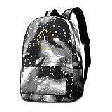 Lawenp Galaxy Backpack Brexit Kid's Fashion Mochilas Bolsa para Viajes Escolares Negocios Compras Trabajo