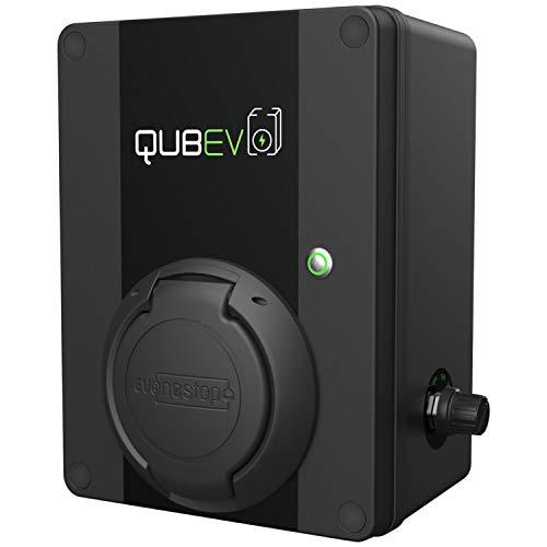 QUBEV - Punto de Recarga EV   Tipo 2   32 A /7.2 KW   Certificación IP65  