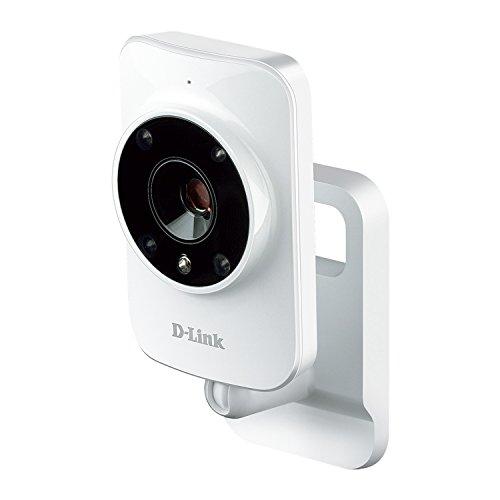 Product Image 1: D-Link DCS-935L Videocamera di Sorveglianza HD, Wi-Fi N, Visore Notturno, Rilevamento Suoni e Movimenti, Compatibile con Mydlink Home