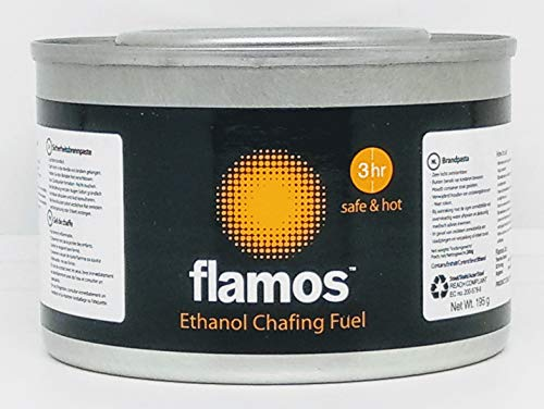 Flamos Ethanol Chafing Fuel 3 hrs Safe & Hot