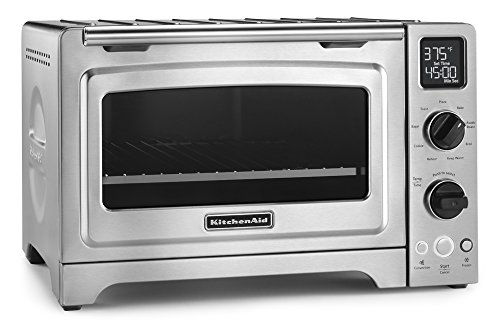 "8. KitchenAid KCO273SS 12"" Convection Oven"