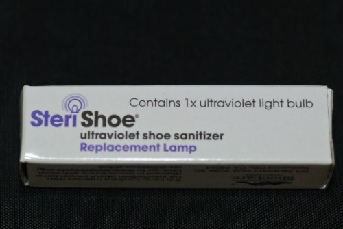 Replacement Lamp for The Original SteriShoe Ultraviolet Shoe Sanitizer (not The SteriShoe+)