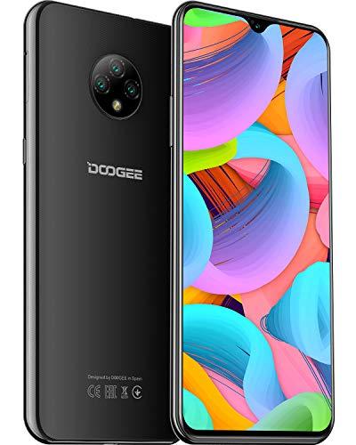 Téléphone Portable,DOOGEE X95 Smartphone,Smartphone Débloqué 4g,Android 10,Ecran 6.52 Waterdrop,Batterie 4350mAh,13MP+5MP Triple Caméra,Noir