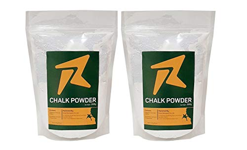 Rocksport XZ-IT1J-BUHP Climbing Chalk Powder, Pack of 2 (White)