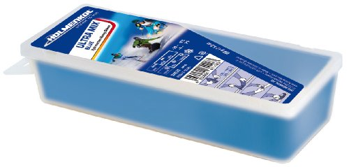 Holmenkol Unisex– Erwachsene Ultramix Blue Skiwachs, blau, 150 g