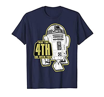 Officially Licensed Star Wars Apparel 14STRW1506 Lightweight, Classic fit, Double-needle sleeve and bottom hem