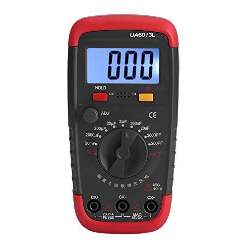 Digital Capacitance Meter Professional Capacitor...