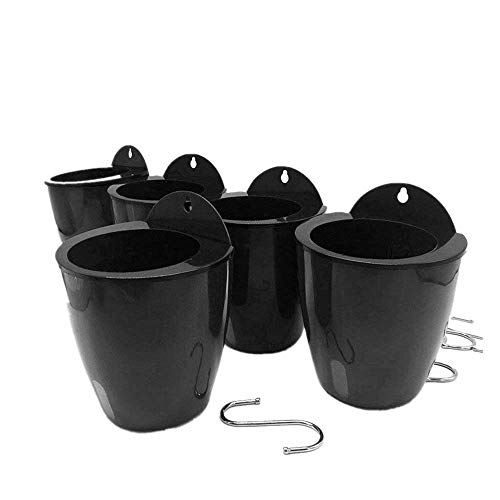 5 Pack Lazy Flower pots Water Hanging Plants Pot/Self Watering...
