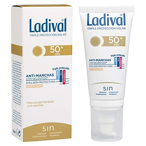 Ladival Protector Solar Facial Anti Manchas con Color - FPS