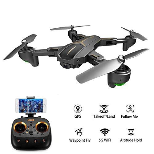 Rabusion VISUO XS812 GPS RC Drone con Telecamera HD da 2 MP / 5 MP 5G WiFi FPV Altitude Hold One Chiave Ritorno Quadcopter RC Helicopter