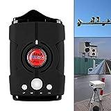 Sunwan Radarmelder für Autos, Laser-Radardetektor mit 360-Grad-Erkennung, Sprachalarmanlage und Geschwindigkeitsalarmanlage, Stadt-/Autobahn-Modus