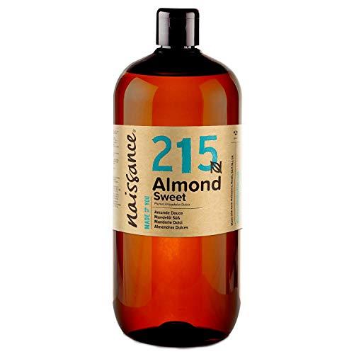 Naissance natürliches Mandelöl süß 1 Liter (1000ml) - Vegan, gentechnikfrei...