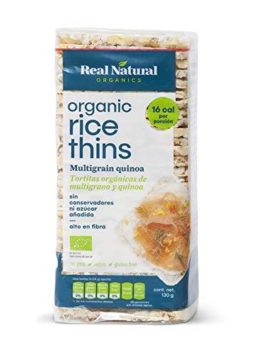 Real Natural, Galleta Multigrano Y Quinoa, 130 Gr.