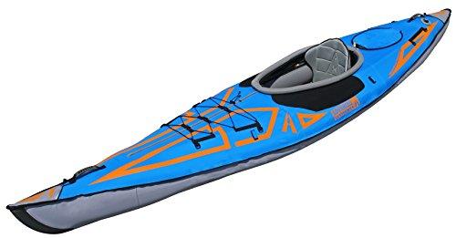 ADVANCED ELEMENTS AdvancedFrame Expedition Elite Inflatable Kayak, Ocean Blue, One Size