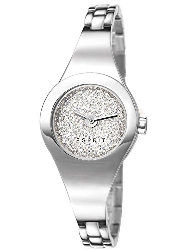 Esprit Damen-Armbanduhr XS Analog Quarz Edelstahl ES107252001